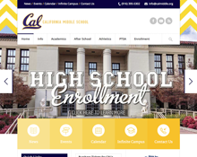 Cal Middle Website
